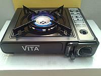 Портативная газовая печь VITA под газовый картридж (баллон)