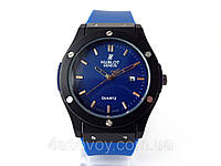 Часы мужские HUBLOT - Big Bang каучуковый синий ремешок, цвет корпуса часов черный, фото 1
