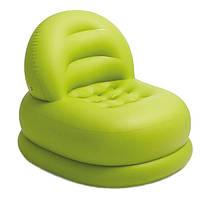 Надувное кресло Intex Mode Chair Зеленый (68592)
