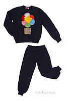 Спортивный костюм для мамы и дочки Mililook Воздушный шар р.80 синий
