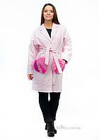 Пальто для дочки и ее мамы Mililook Сердце р.80 розовый