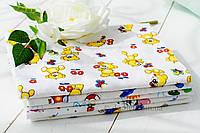 Пеленка фланель 5 шт Flavien 3023 разные цвета