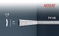 ORAC Decor PX146 AXXENT фриз настенный бордюр багет угловой молдинг лепнина из дюрополимера 2 м