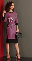Платье летнее Lissana-2988 белорусская одежда цвета розовый|зеленый|голубой|красный