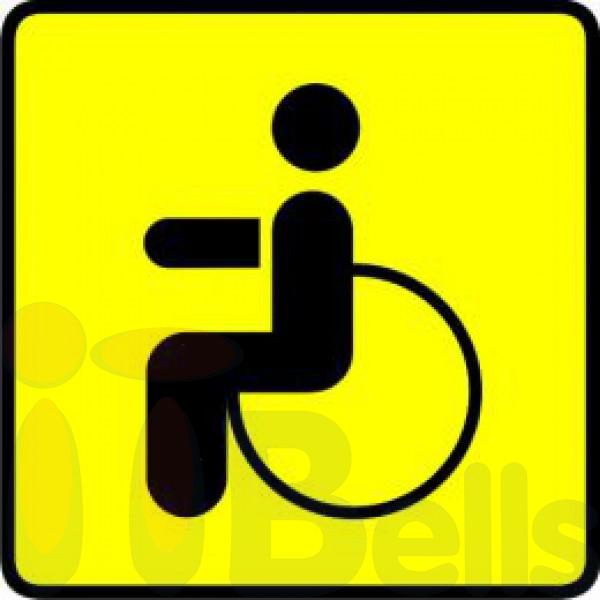 Мини-наклейка для инвалидов