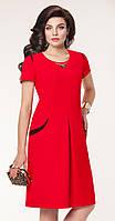 Платье на выпускной VITTORIA QUEEN-4333/3 белорусский трикотаж из ткани Стретч цвета Красный