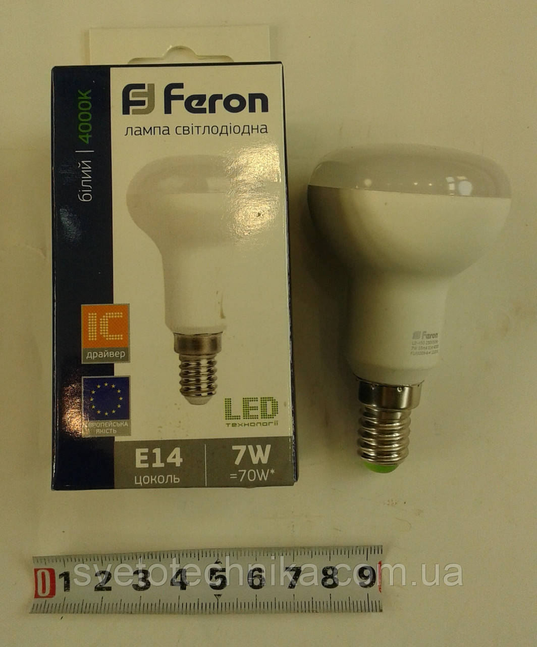 Светодиодная лампа Feron LB450 E14 R50 6W 4000К