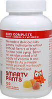 Мультивитаминный комплекс для детей с Омегой (рыбий жир) и витамином D (жевательные)