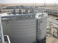 Монтаж резервуара вертикального стального цилиндрического