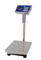 Весы торговые WIMPEX 300 kg big Металлическая голова 45X60