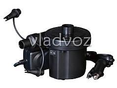 Насос электрический для надувных бассейнов, матрасов 220v/12v 62076