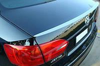 Спойлер багажника (лип спойлер, сабля, утиный хвостик) Volkswagen Jetta 2010+ Джета