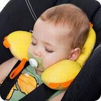 Дитячі подушки і підголовники