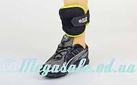 Спортивные утяжелители-манжеты для рук и ног 4370: 2 утяжелителя по 1,4 кг