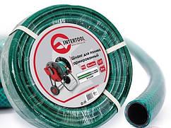 """Шланг поливочный """"Intertool"""" зеленый 3-х слойный арт. GE-4023 сечение 1/2"""", длина 20 м"""