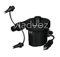 Насос электрический для надувных бассейнов, матрасов 12v 62097