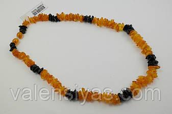 Ожерелье из натурального янтаря, фото 2