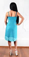 """Платье  """"Горошки Людмилы"""" размеры 48-50, фото 3"""