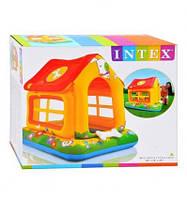 Надувной игровой центр Intex Домик 57429