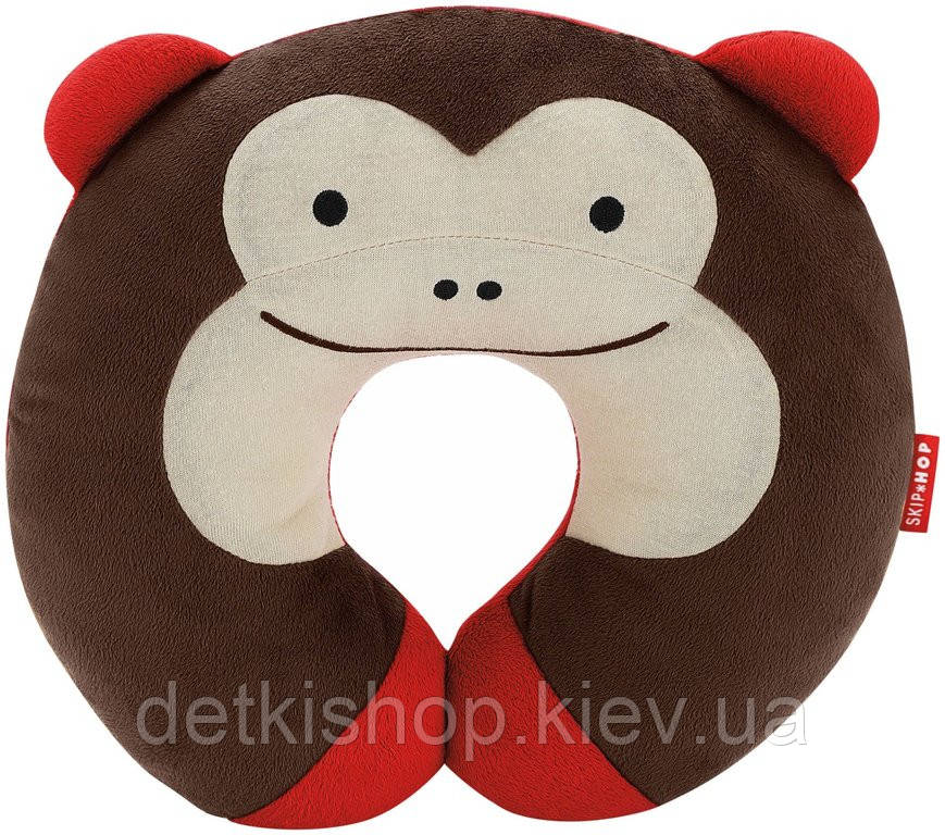 Подушка-подголовник «Обезьянка» Skip Hop Zoo Neckrest