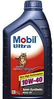 Полусинтетическое моторное масло MOBIL Ultra Esso (Мобил ультра ЭССО) 10w-40 1 л