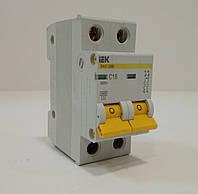 Автоматический выключатель IEK ВА 47-29 2Р С 20А