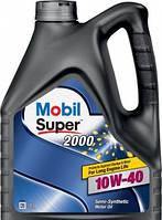 Полусинтетическое моторное масло MOBIL Super 2000 (Мобил супер) 10w-40 4 л
