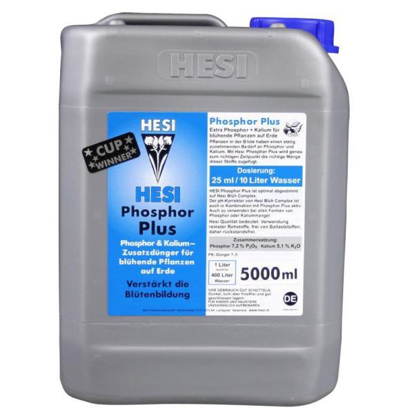 HESI Phosphorus Plus 5L Минеральное удобрение для гидропоники. Оригинал. Нидерланды.