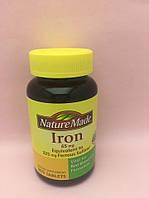 Витамины Nature Made Iron 365 tablets
