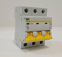 Автоматический выключатель IEK ВА 47-29 3Р С 20А