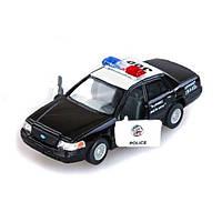 Машинка металлическая инерционная Полиция KT5327W Kinsmart