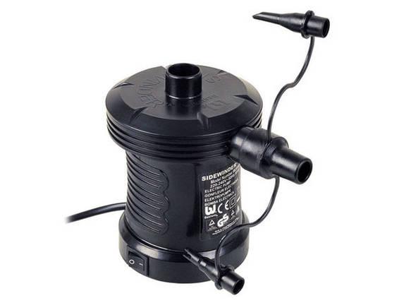 Насос электрический для надувных бассейнов, матрасов 220v 62056, фото 2