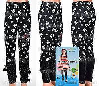 Детские велюровые штанишки на девочку Nailali T731-4 XL-R