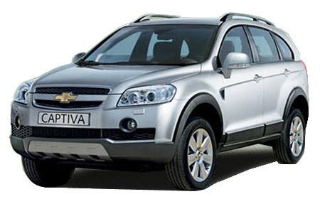 Автомобильные стекла для CHEVROLET CAPTIVA