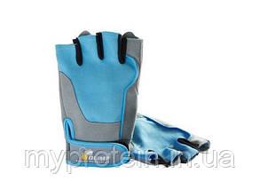 OLIMP Жіночі Рукавички Fitness One ( blue)