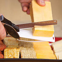 Умный нож Clever Cutter с разделочной мини доской