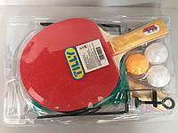 Теннисная ракетка с сеткой