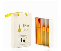 Женский подарочный набор 3*15 мл Christian Dior J'adore (Кристиан Диор Жадор)