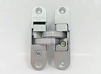 Петли дверные скрытые  Cemom W978 матовый хром