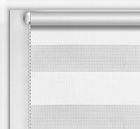"""Рулонные шторы системы """"День-ночь"""" (зебра) белый, РАЗМЕР 42,5х170 см, фото 1"""