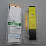 PH метр PH-009 - бюджетный прибор для измерения кислотности с температурной компенсацией АТС, фото 2