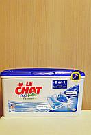 Капсулы для стирки Le Chat Duo-Bulles Expert с пятновыводителем 20 шт. Франция