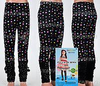 Детские велюровые штанишки на девочку Nailali T731-7 XL-R