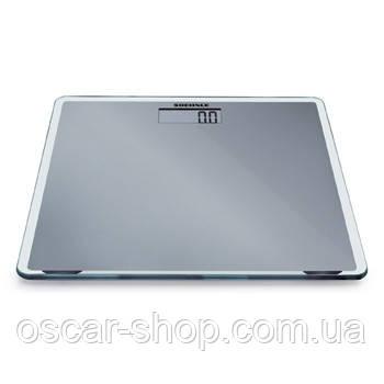 Весы напольные электронные Soehnle SLIM DESIGN, серые 150кг/100г
