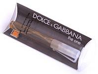 Мужская туалетная вода Dolce&Gabbana The one for Men (Дольче Габбана Зе Ван фо Мен) 8мл.