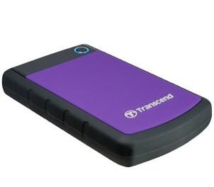 Внешний жесткий диск 1 Tb Transcend StoreJet 25H3P, USB 3.0, 5400 rpm