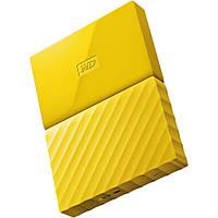 Внешний жесткий диск 1Tb Western Digital My Passport, Yellow, 2.5', USB 3.0 (WDBYNN0010BYL-WESN)