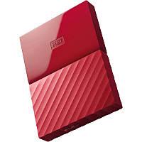 Внешний жесткий диск 1Tb Western Digital My Passport, Red, 2.5', USB 3.0 (WDBYNN0010BRD-WESN)