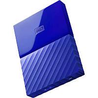 Внешний жесткий диск 2Tb Western Digital My Passport, Blue, 2.5', USB 3.0 (WDBYFT0020BBL-WESN)