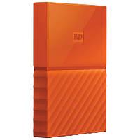 Внешний жесткий диск 2Tb Western Digital My Passport, Orange, 2.5', USB 3.0 (WDBYFT0020BOR-WESN)